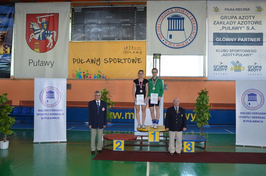 Kolejny medal Lidki Różyk