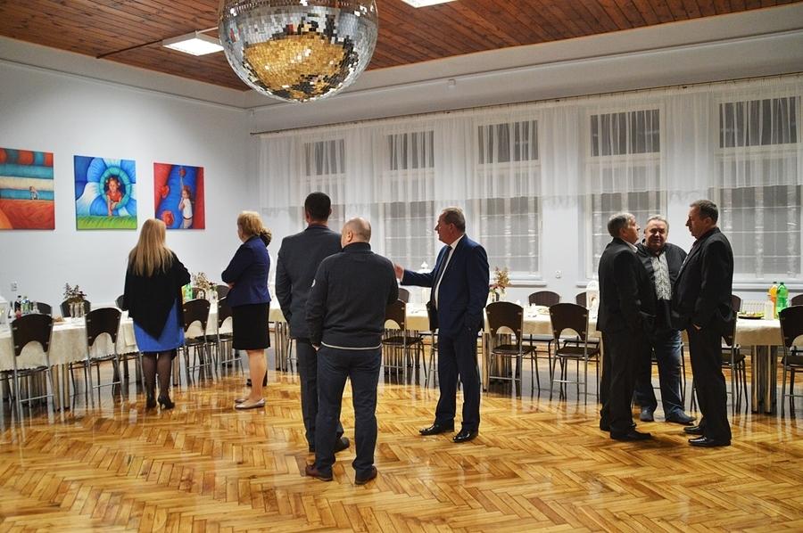 Spotkanie w wyremontowanej świetlicy w Krasieninie Kolonii