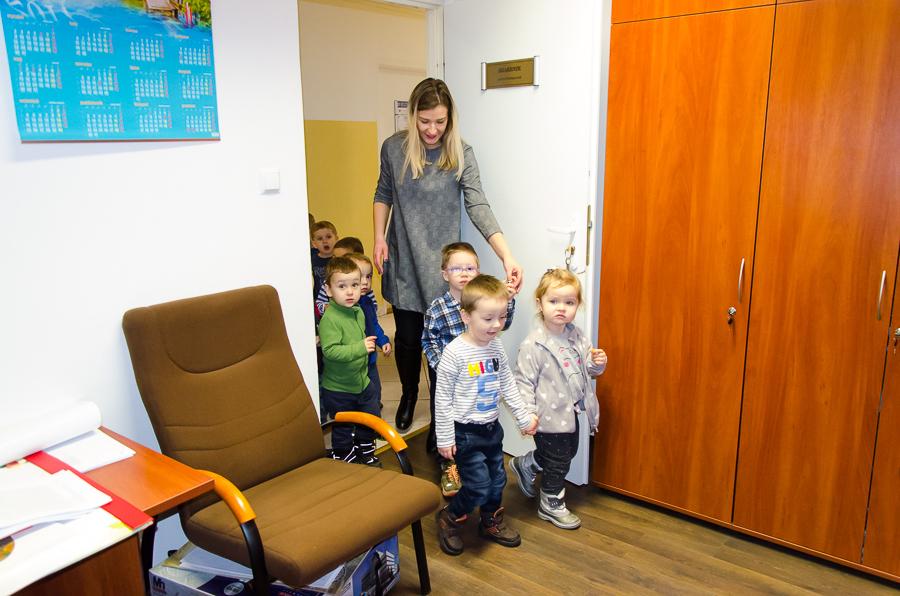 Małe Misie z wizytą w naszym urzędzie