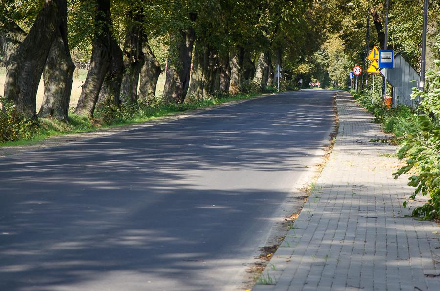 Gruntowna przebudowa trasy z Ciecierzyna do Pólka
