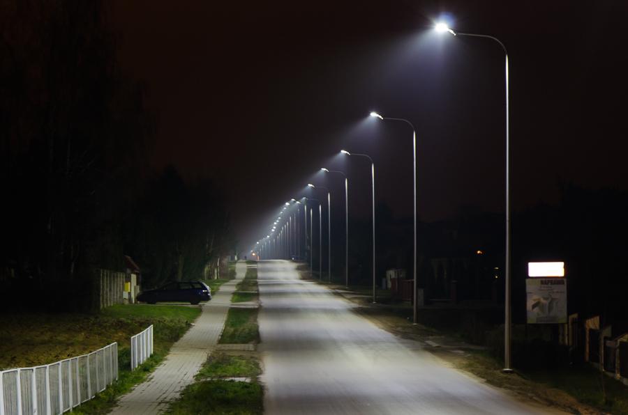Nowe oświetlenie w Ciecierzynie
