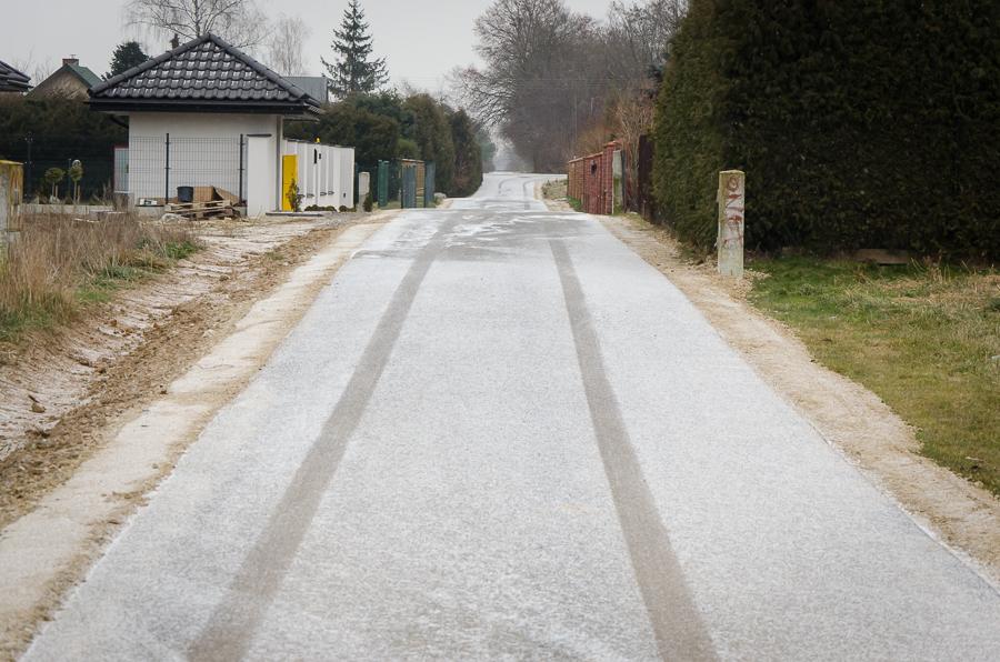 Przebudowa drogi w Elizówce