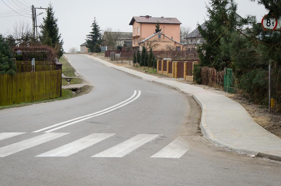 Budowa chodnika w Rudce Kozłowieckiej