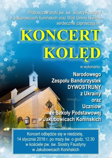 Plakaty koncertów