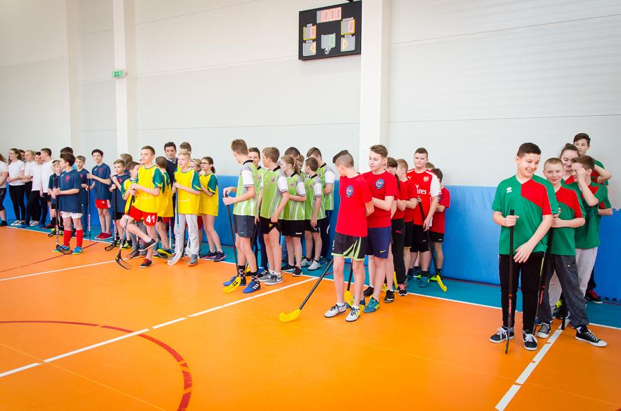III Gminny Turniej Unihokeja w ZPO w Dysie