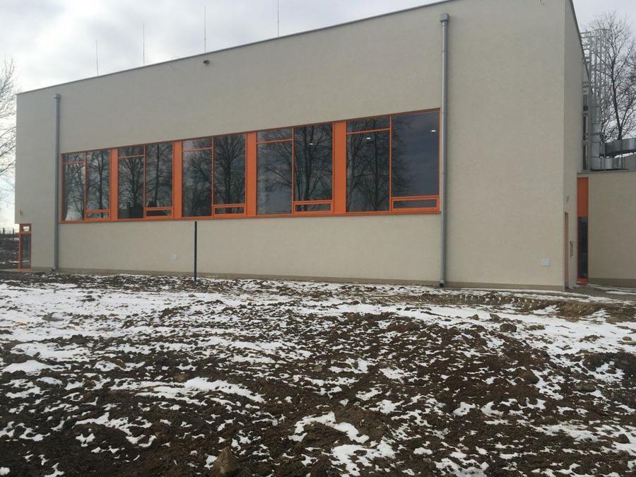 Sala sportowa w Jakubowicach Konińskich