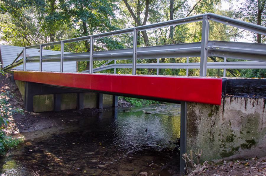 Most nad Ciemięgą