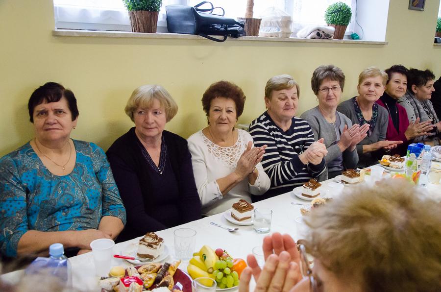 Spotkanie Seniorów z okazji Dnia Kobiet