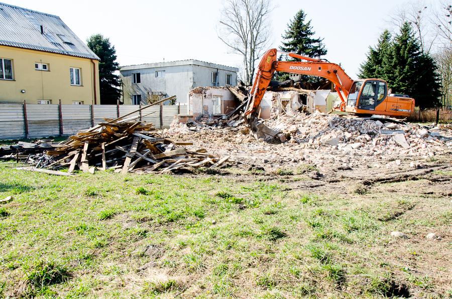 Rewitalizacja budynku w Parku