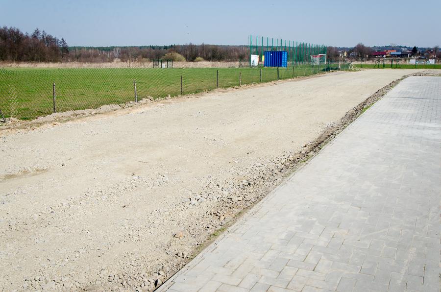 Modernizacja kompleksu boisk w Niemcach