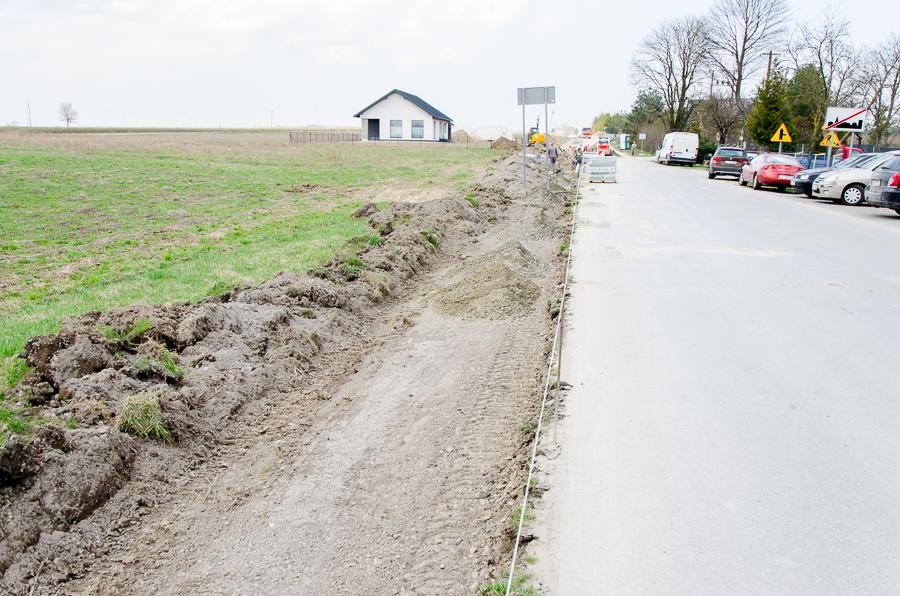 Przebudowa drogi powiatowej 1546L