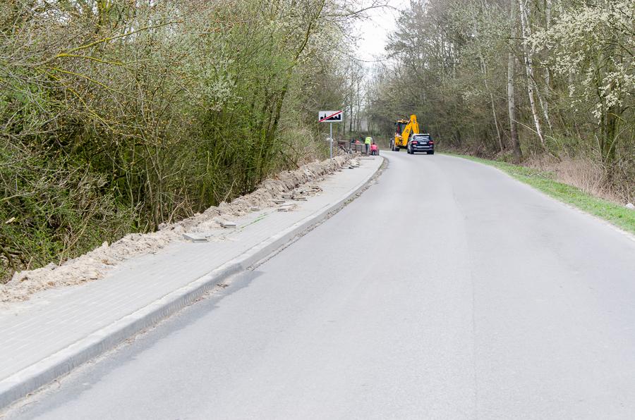 Przebudowa drogi powiatowej nr 2216L