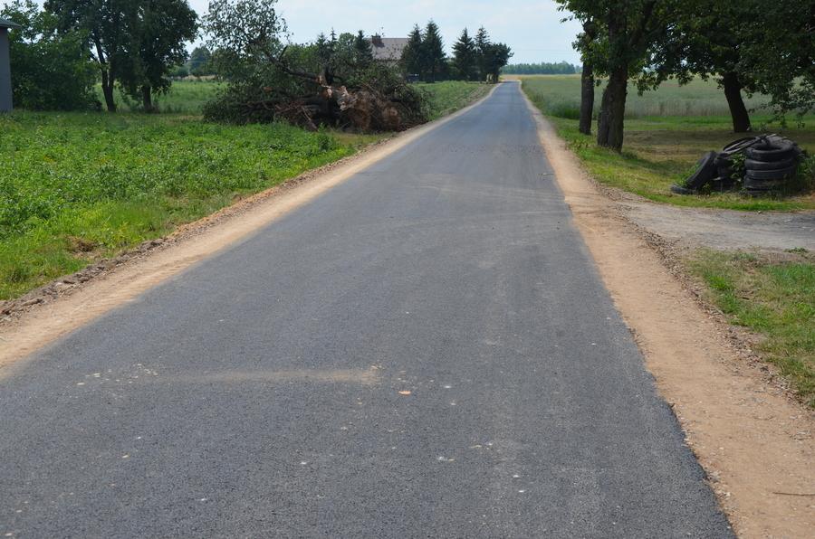 Droga łącząca Swobodę z Kolonią Bystrzyca