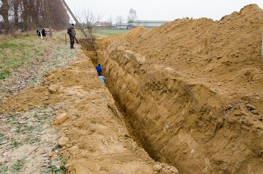 Budowa kanalizacji sanitarnej w miejscowości Niemce
