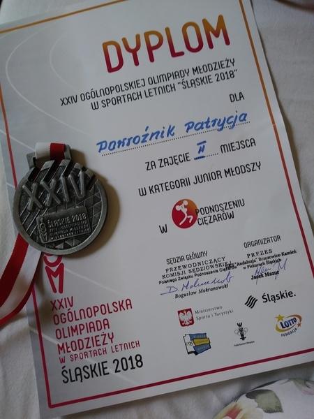 Kolejny medal Patrycji Powroźnik