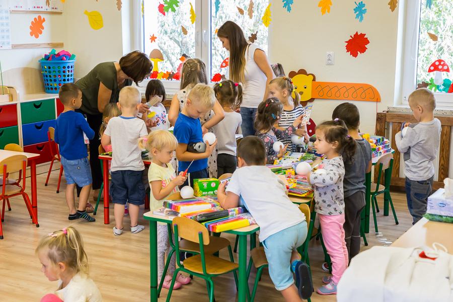 Słonik nadziei w przedszkolu w Nasutowie