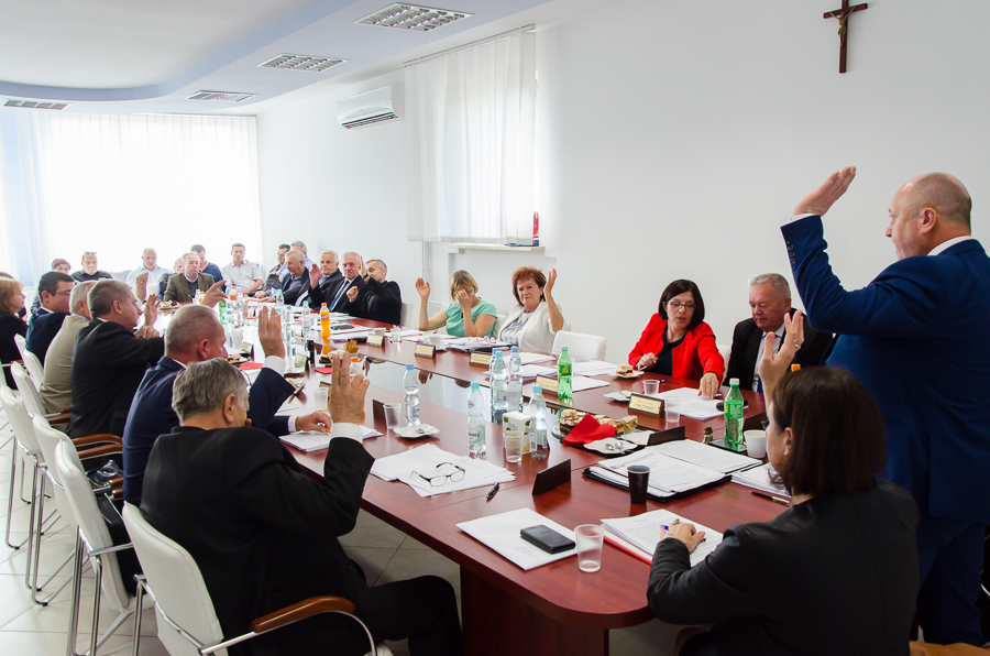 XLV Sesja Rady Gminy Niemce