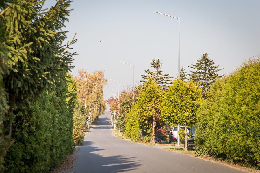 Oświetlenie na ul. Kwiatowej