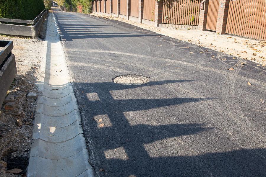 Kanalizacja i droga w Elizówce
