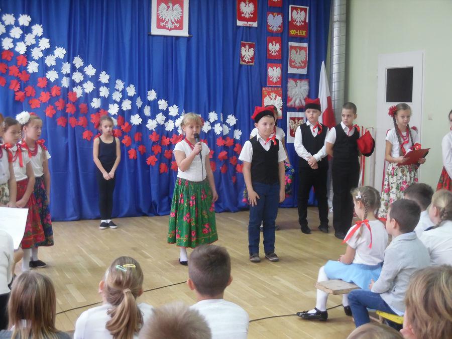 Obchody 100-lecia niepodległości w ZPO w Ciecierzynie