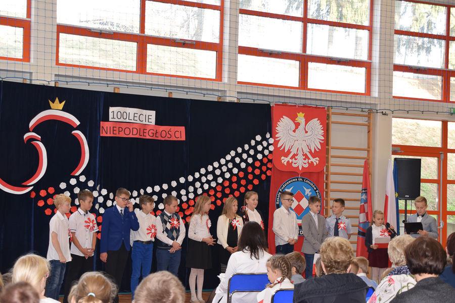 Obchody 100-lecia niepodległości w ZPO w Dysie
