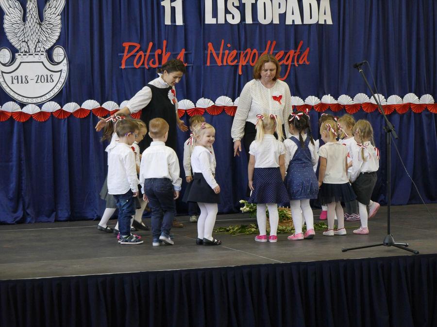 Obchody 100-lecia niepodległości w Szkole Podstawowej w Jakubowicach