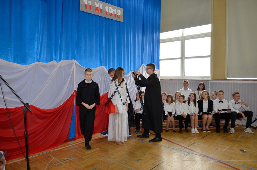 Obchody 100-lecia niepodległości w Szkole Podstawowej w Niemcach