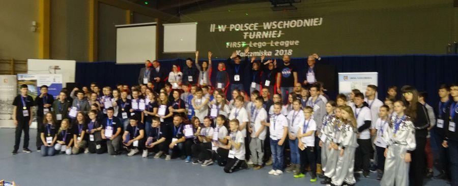 II w Polsce Wschodniej Turniej robotyki First Lego League
