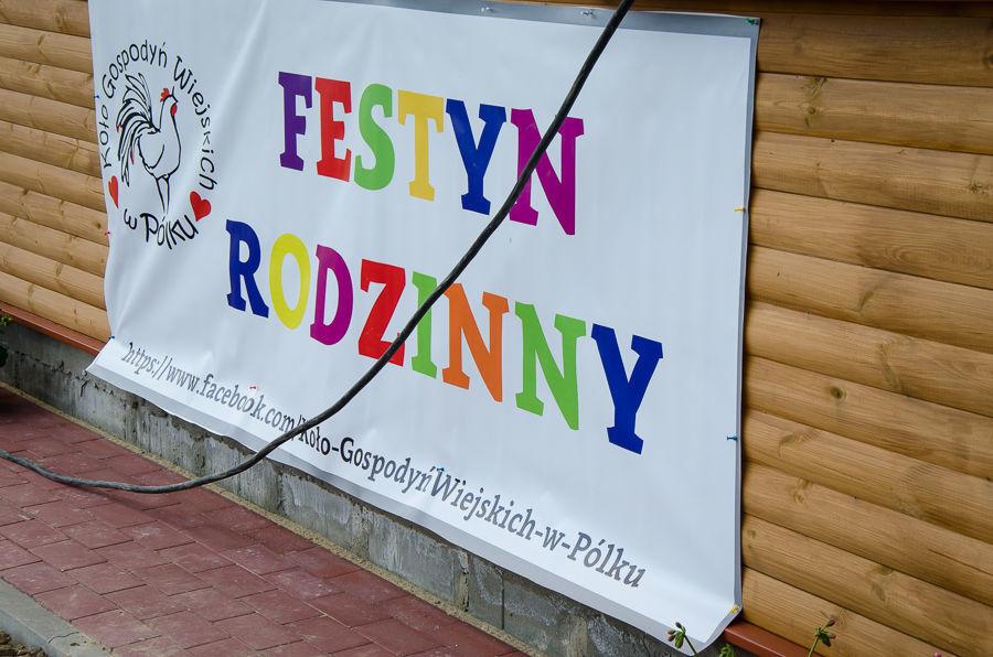 Festyn rodzinny w miejscowości Pólko