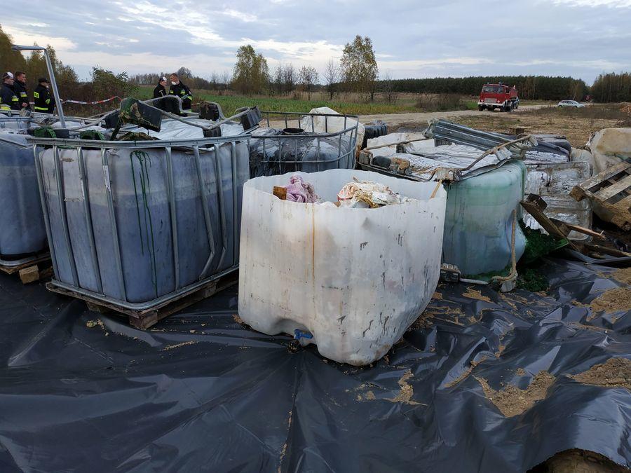 Akcja zabezpieczania odpadów