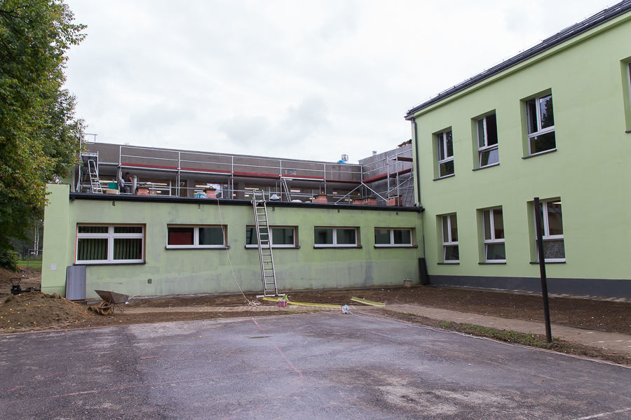 Termomodernizacja szkoły w Krasieninie