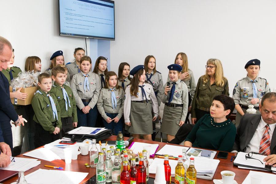 XIII Sesja Rady Gminy Niemce