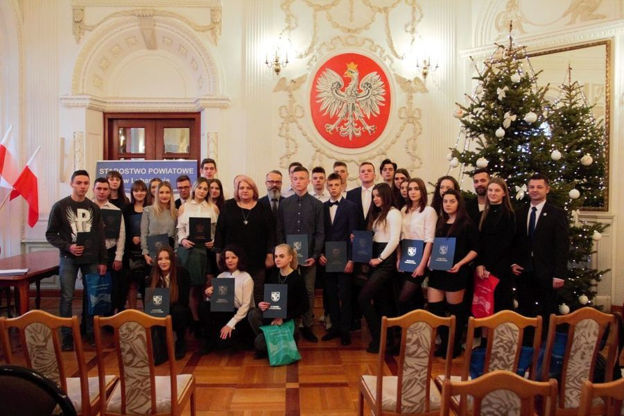 Starosta Lubartowski uhonorowała najlepszych sportowców 2019 roku