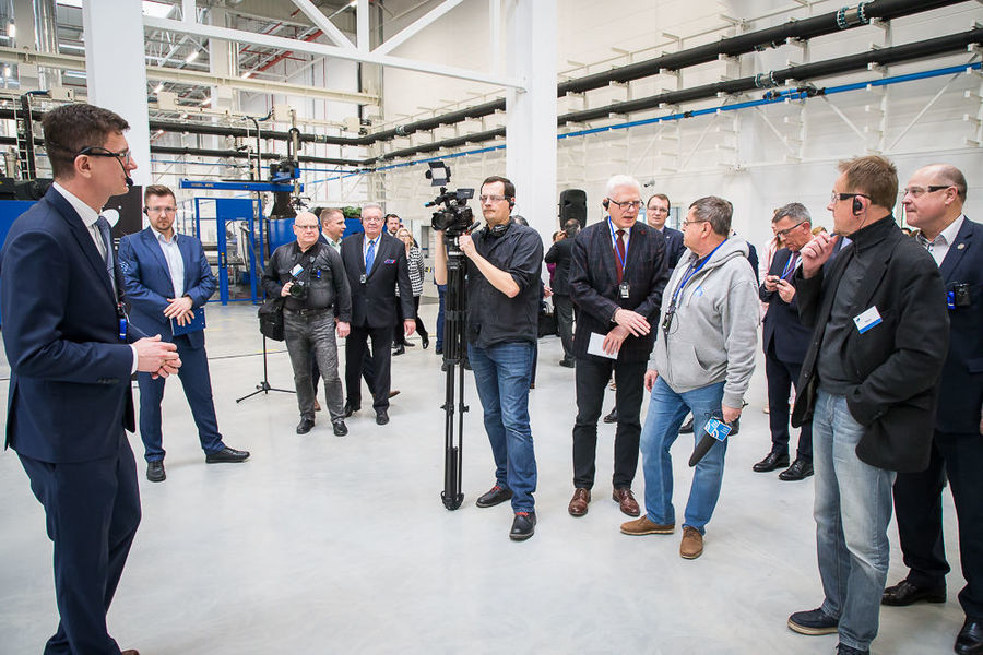 Oficjalne otwarcie fabryki Varroc