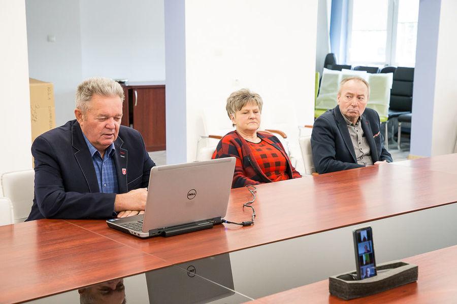 Spotkanie on-line z Sołtysami