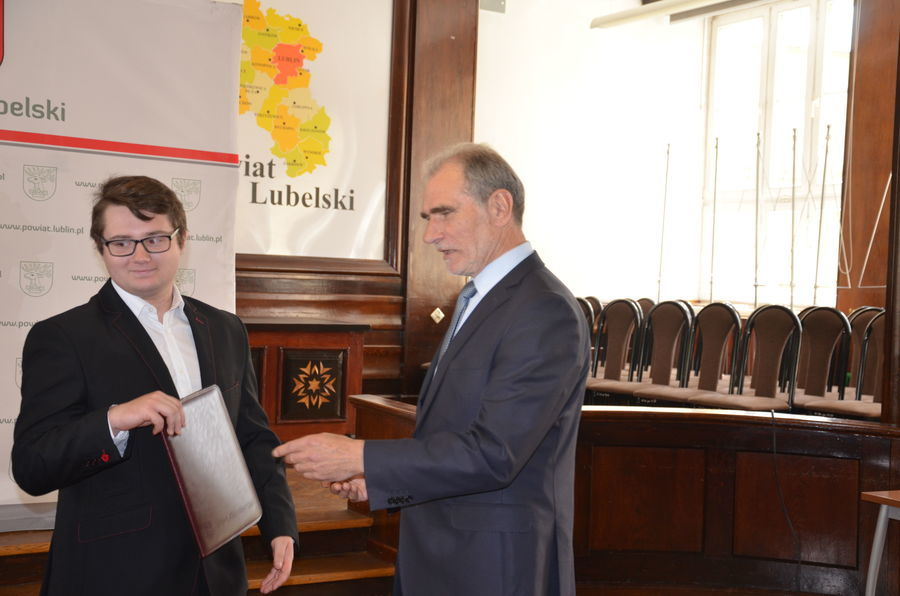 GULKS Niemce z nagrodami Starosty Lubelskiego