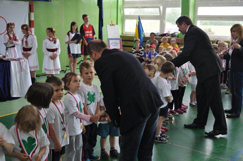 I Gminna Przedszkolna Olimpiada Sportowa 2014