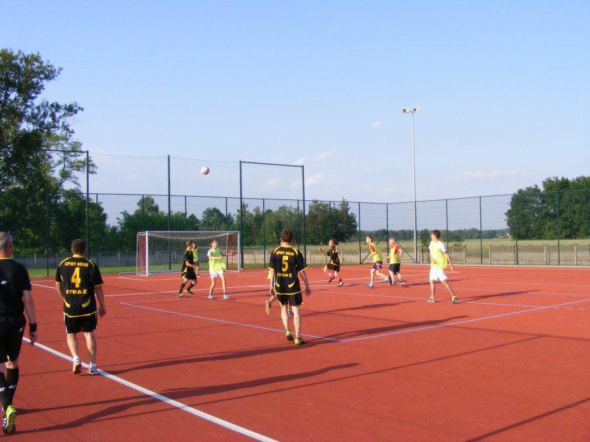 Turniej Piłki Nożnej oPuchar Wójta - Lipiny Dolne 2014