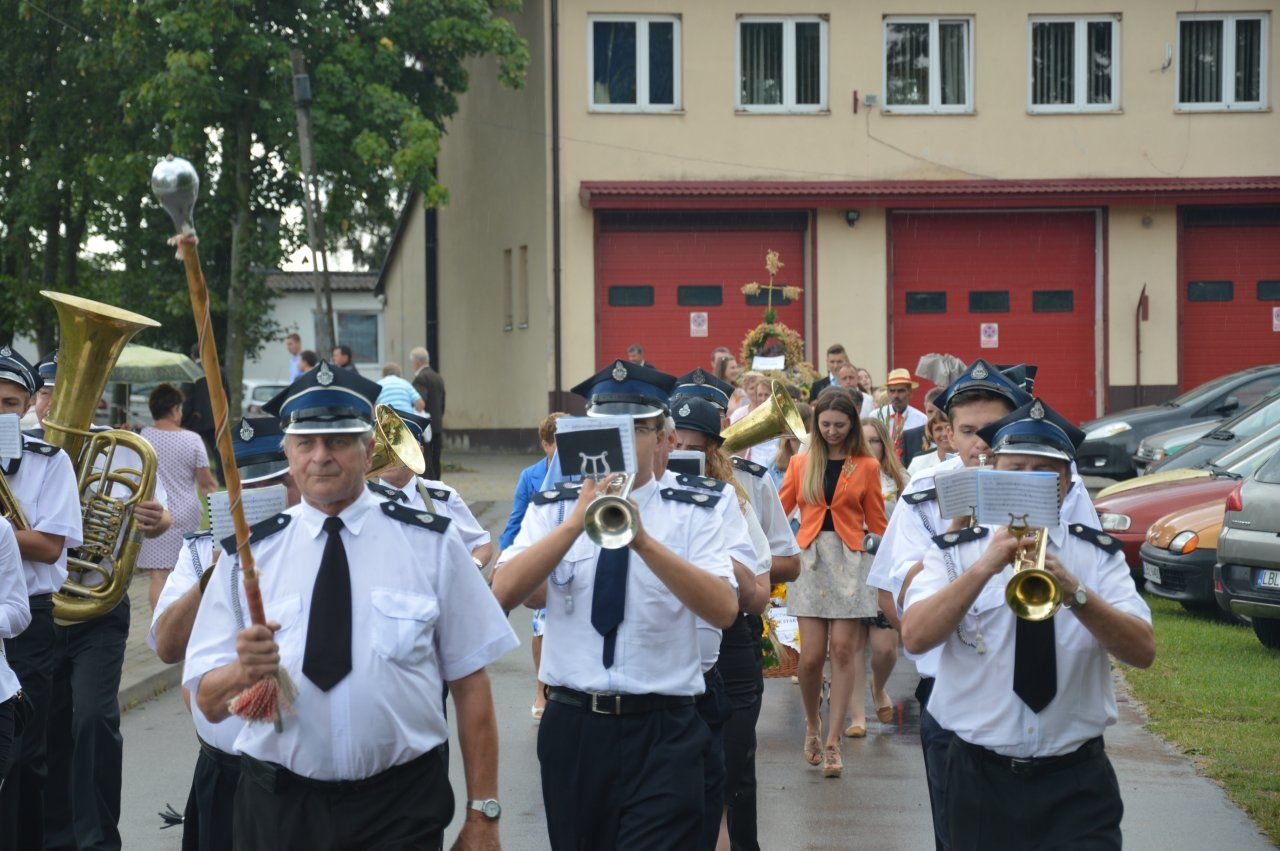 W niedzielnie popołudnie, 14 sierpnia wamfiteatrze wPotoku Górnym odbyły się dożynki gminno-parafialne