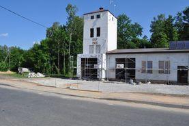 Zagospodarowanie centrum wsi Lipiny Dolne - remont remizy OSP