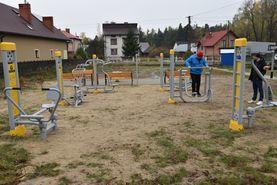 Budowa pięciu obiektów małej architektury na terenie Gminy Potok Górny