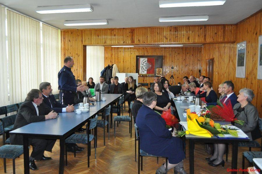 Sesja inauguracyjna Rady Gminy Potok Górny