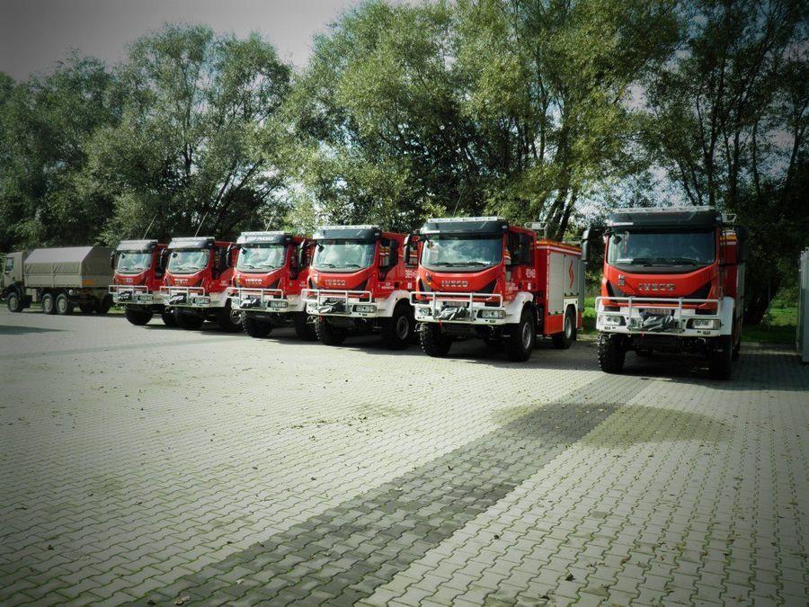 Jednostka Ochotniczej Straży Pożarnej w Lipinach Dolnych otrzymała nowy samochód ratowniczo-gaśniczy