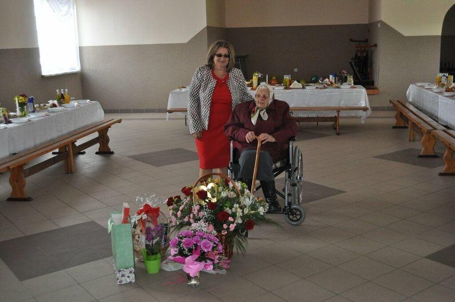 Jubileusz 100 rocznicy urodzin Pani Janiny Budzyńskiej z Szyszkowa