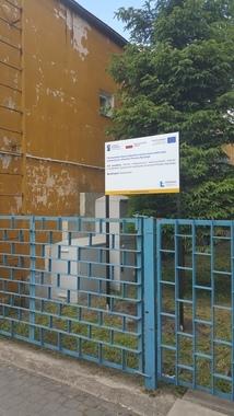 Zdjęcie tablica Zarząd Dróg w Rykach