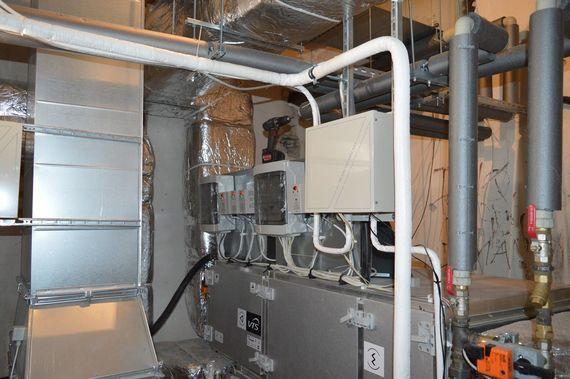 Instalacja klimatyzacji i wentylacji