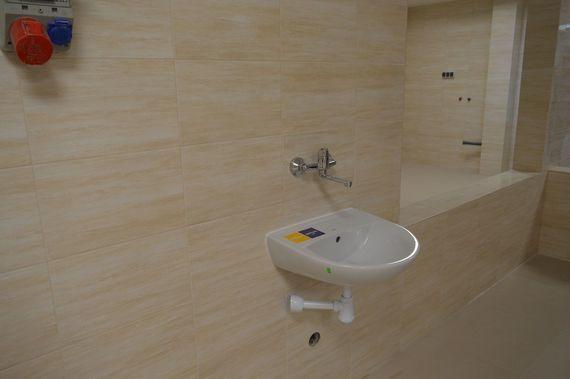 Umywalka w ścianie