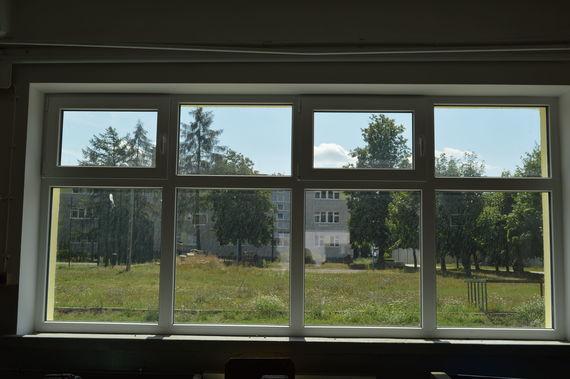 Widok z okien nowego budynku