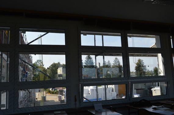 Widok z okien