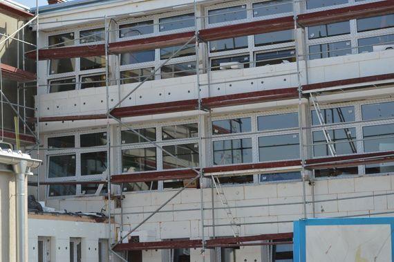 Budynek w remoncie